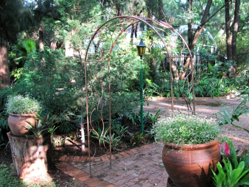 Zambesi Lodge Garden View 1